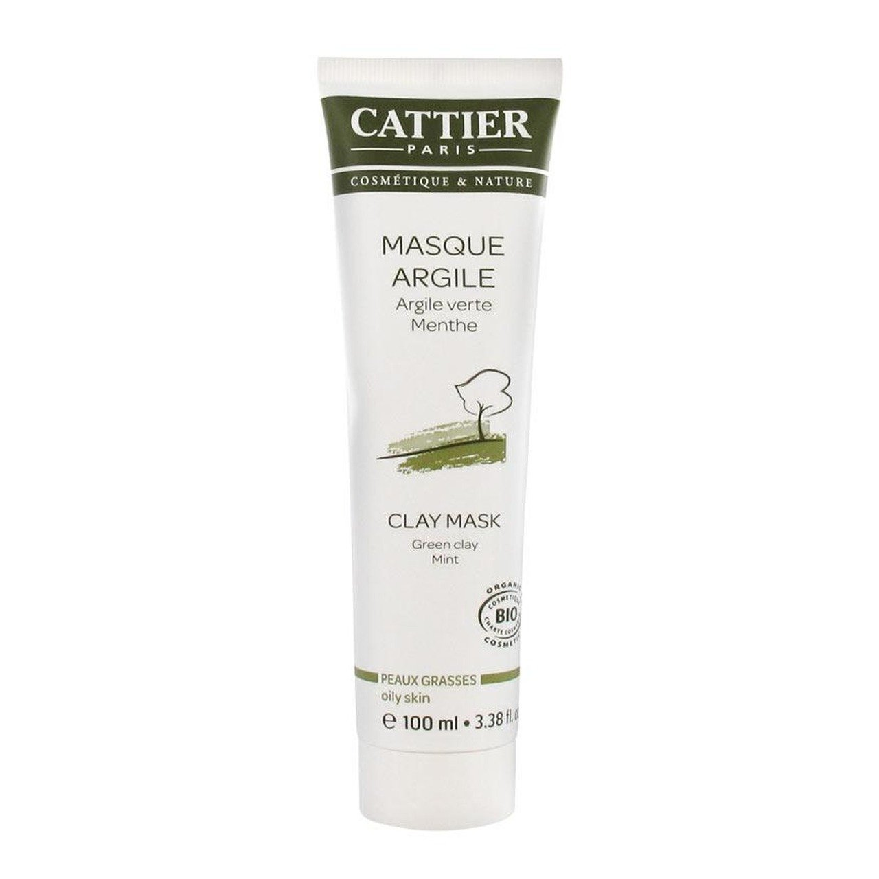 cattier clay mask green