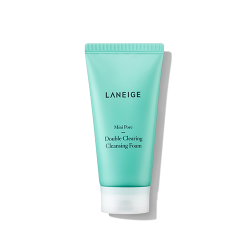 mini pore double clearing cleansing foam