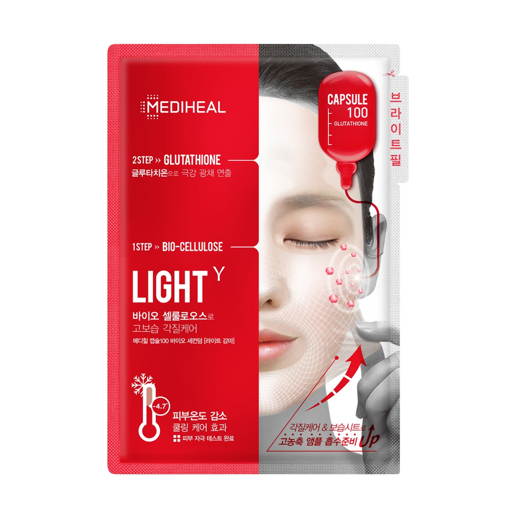 Mediheal Capsule 100 Bio Seconderm Light