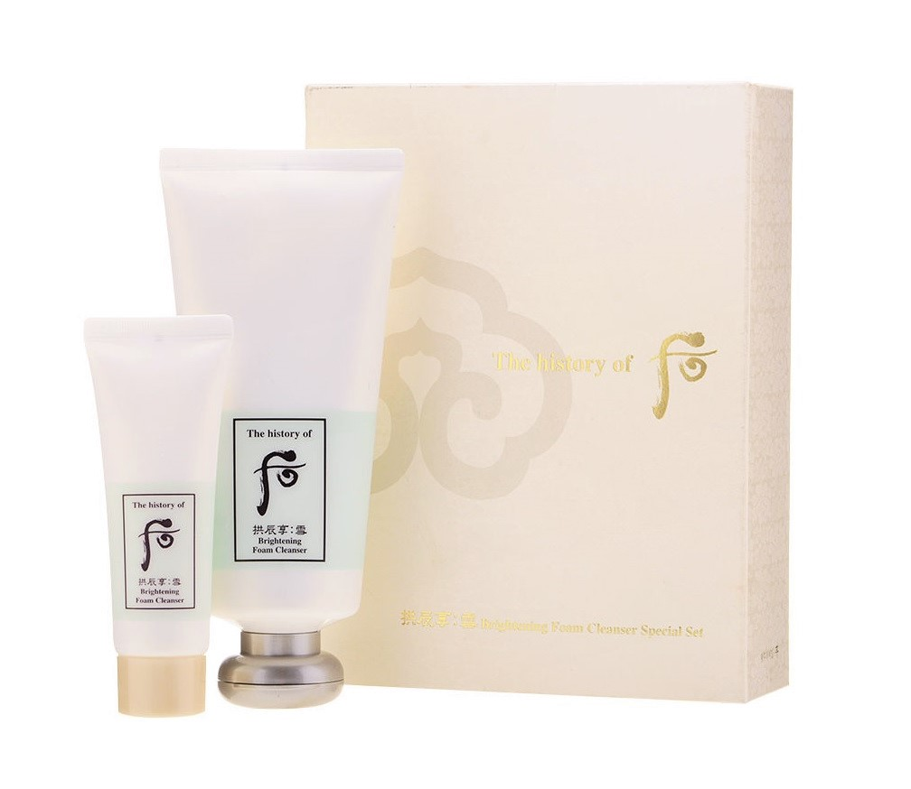 Whoo Brightening Foam Cleanser Special Set