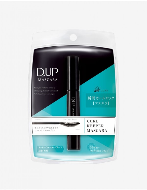 D.UP Curl Keeper Mascara
