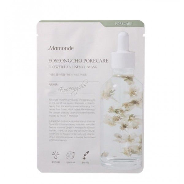 Mamonde Eoseongcho Porecare Flower Lab Essence Mask