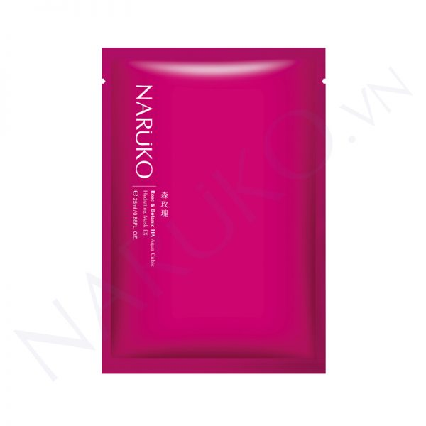Naruko Rose & Botanic HA Aqua Cubic Hydrating Mask