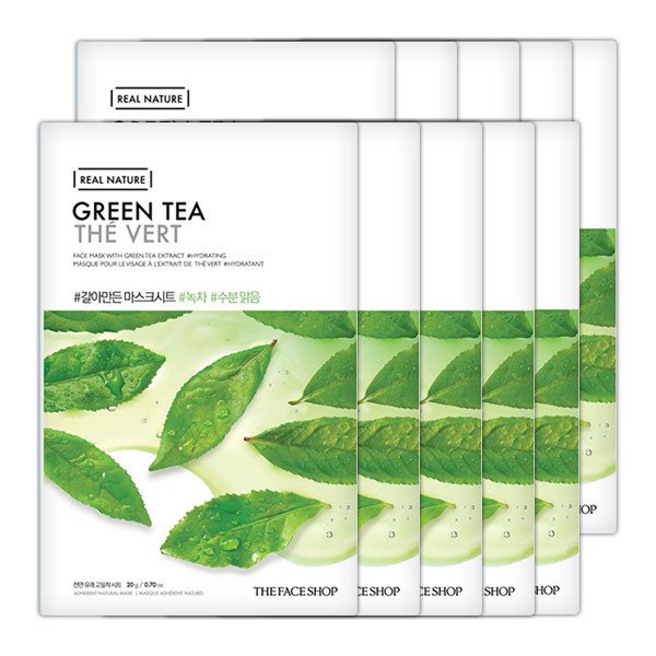 TFS Real Nature Green Tea Mask