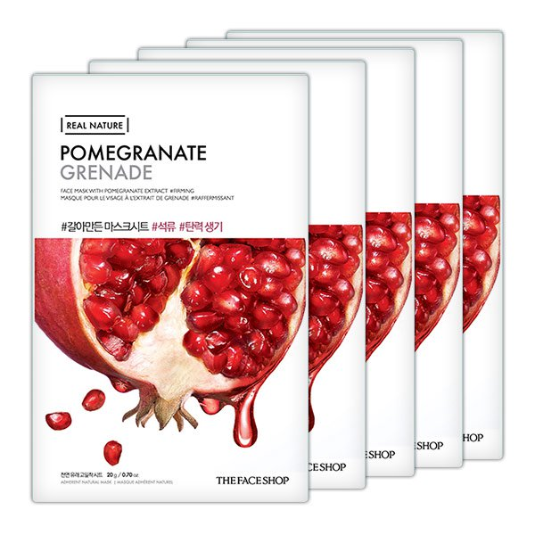 TFS Real Nature Pomegranate Mask