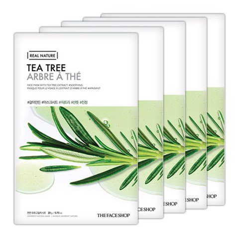 TFS Real Nature Tea Tree Mask