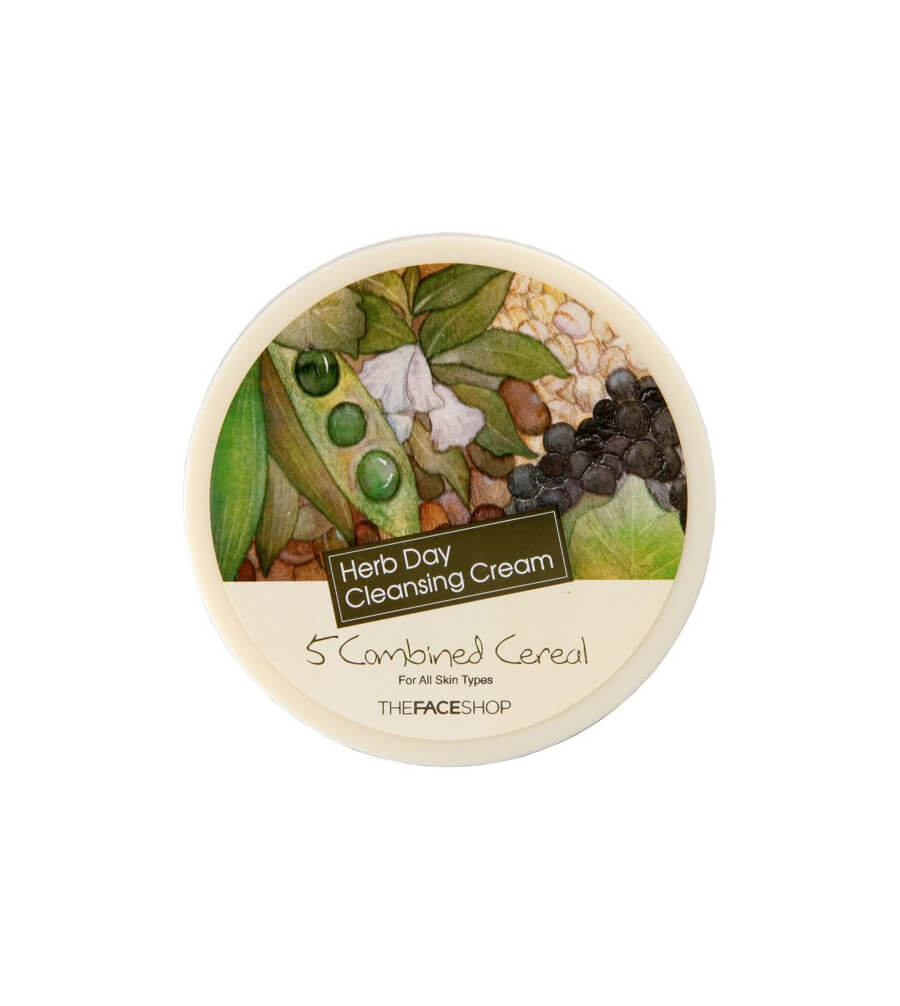 TFS Herbday Cleansing Cream 5 Combined Cereal