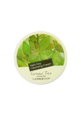 TFS Herbday Cleansing Cream Green Tea