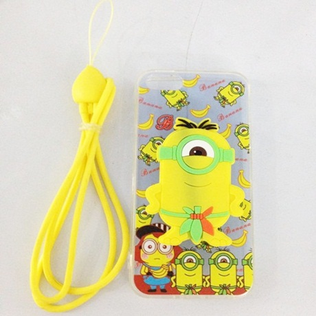 Ốp lưng Silicon Iphone 5 hình Minion