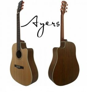 Ayers Acoustic Guitar DCSOL