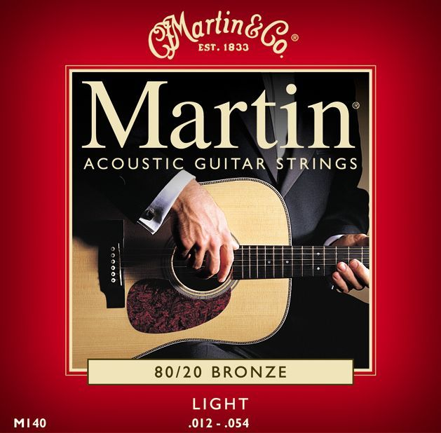 Acoustic Martin M140 Strings