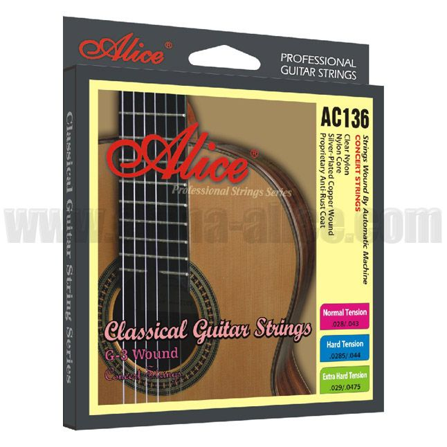 Alice AC136 strings