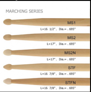 Marching Drum Sticks TM007