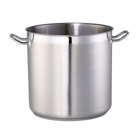 (11-00401) S/S STOCK POT w/o LID Ø24xH24cm, 10.9L, CAPSULE BOTTOM, SAFICO