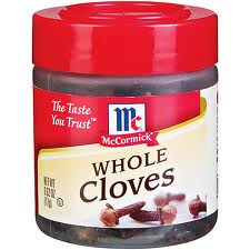 McComick Spices Cloves Whole