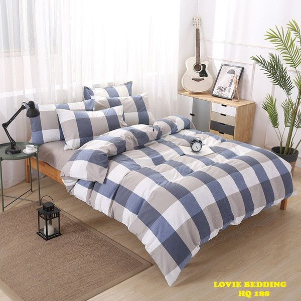 BO DRAP MEN COTTON LUA HQ 188