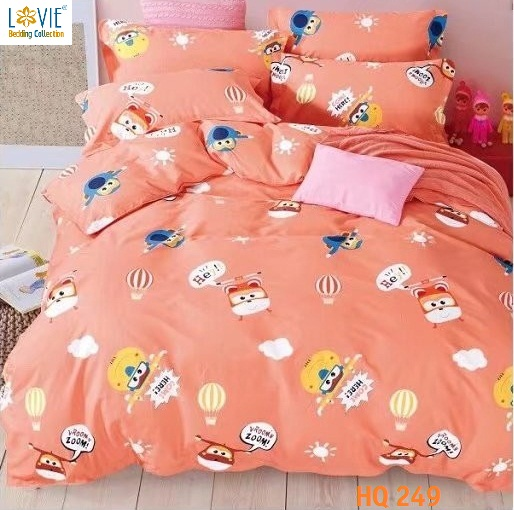 BỘ DRAP COTTON 1M8-HQ249