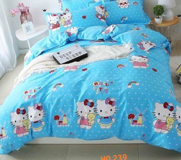 BỘ DRAP COTTON 1M4 HQ239