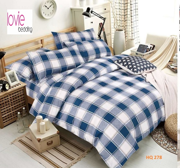 BỘ DRAP COTTON 1M8 HQ278