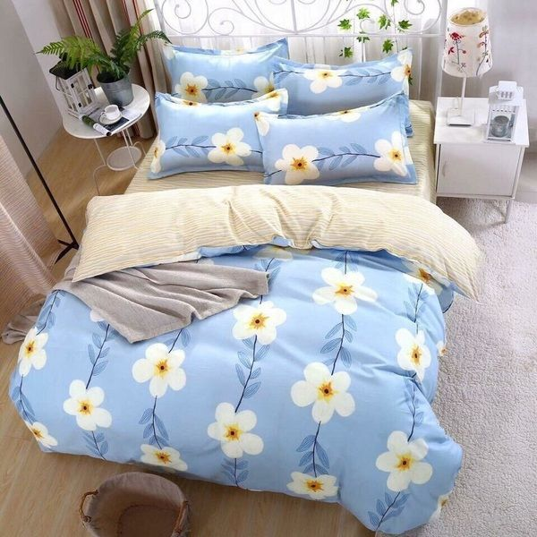 Bộ Drap Mền cotton Poly Lovie PL26