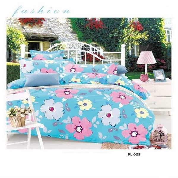 Bộ Drap Mền cotton Poly Lovie PL51