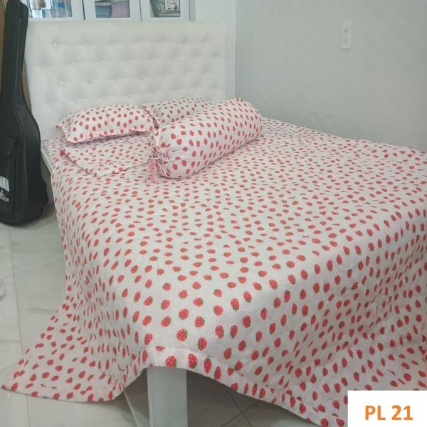 Bộ Drap cotton Poly Lovie PL21