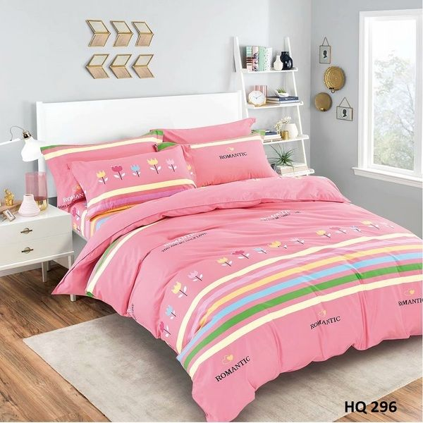 BỘ DRAP COTTON 1M8 HQ296