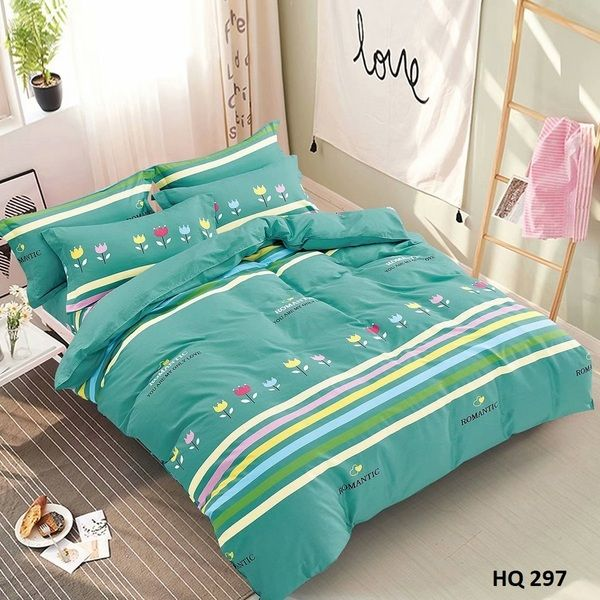 BỘ DRAP COTTON 1M8 HQ297