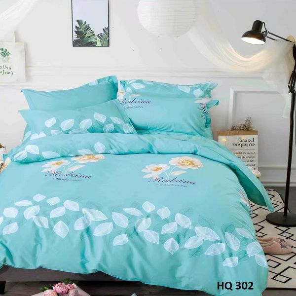 BỘ DRAP COTTON 1M8 HQ302