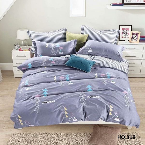 BỘ DRAP COTTON 1M8 HQ318