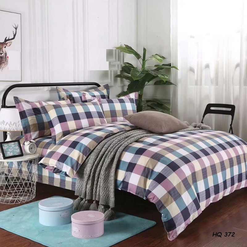 BỘ DRAP COTTON 100% HQ372