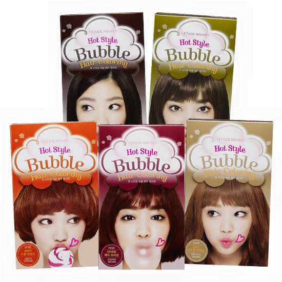 REVIEW | ETUDE HOUSE Hot Style Bubble Hair Coloring #Cherry Brown