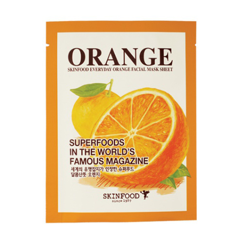 Skin Food Everyday Orange Facial Mask Sheet