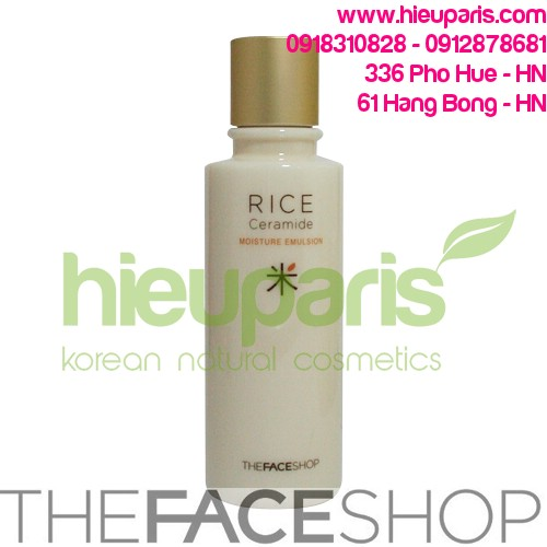 Rice Ceramid Moisture Emulsion