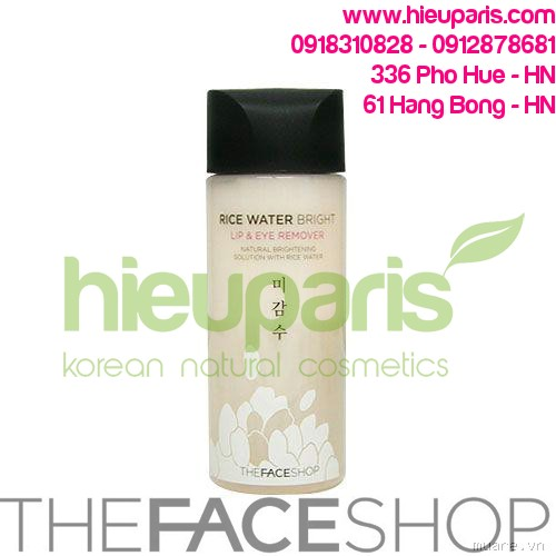 Rice Water Bright Lip & Eye Remover...