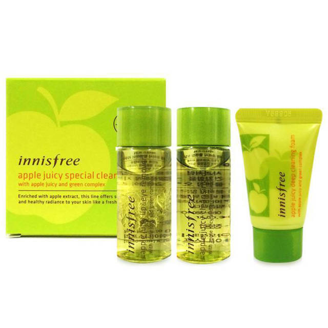 Innisfree Juicy Special Cleansing Kit