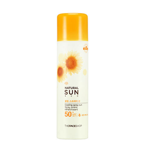 Natural Sun Eco Cooling Spray Sun SPF50