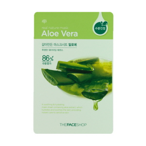 Real Nature Mask Aloe Mask Sheet