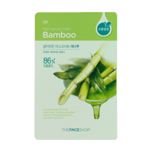 Real Nature Mask Bamboo Mask Sheet