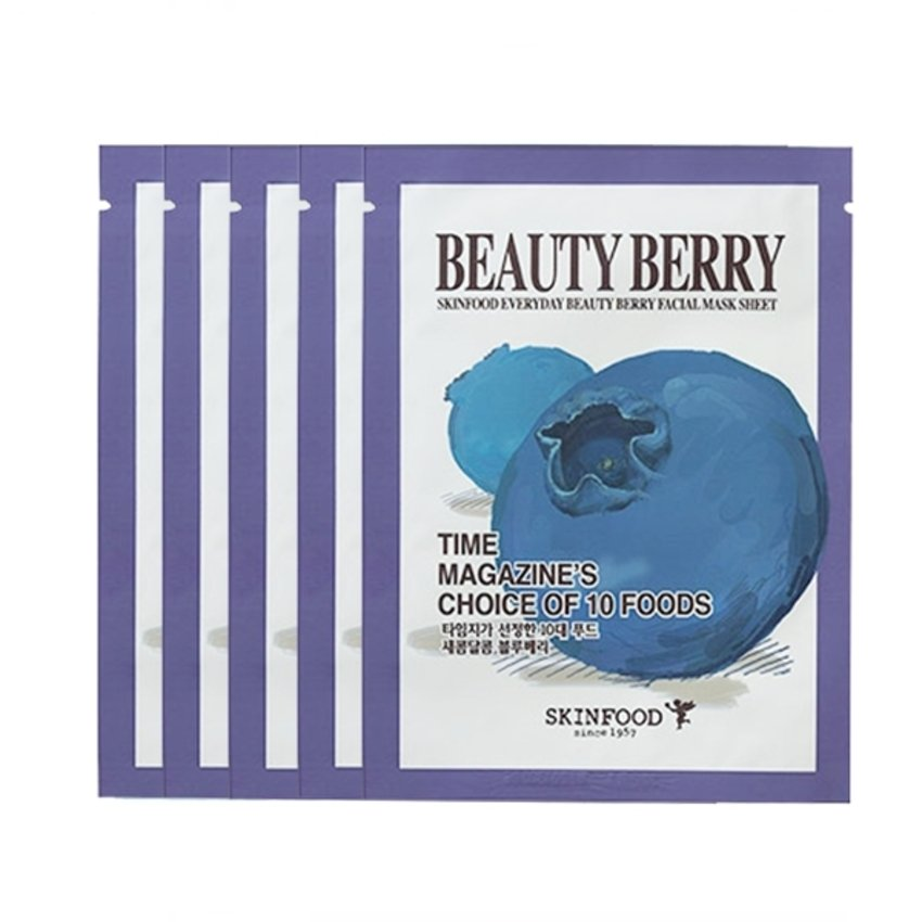 Everyday Beauty Berry Facial Mask Sheet