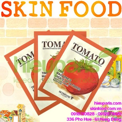 Everyday Tomato Facial Mask Sheet