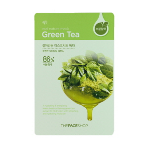 Real Nature Mask Green Tea Mask Sheet