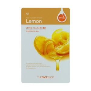 Real Nature Mask Lemon Mask Sheet