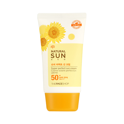 Natural Sun Eco Super Perfect Sun Cream SPF50