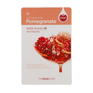 Real Nature Mask Acai Pomegranate Mask Sheet