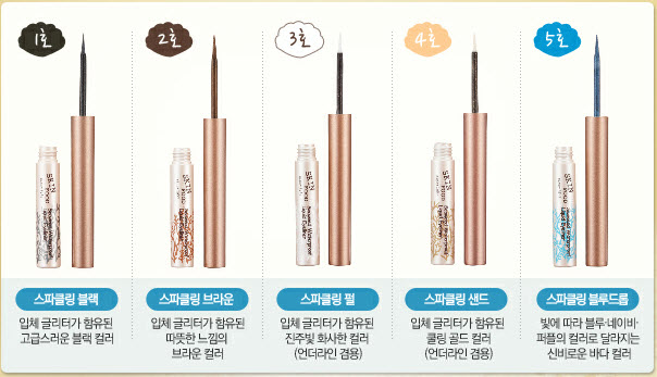 Seaweed Waterproof Liquid Eyeliner #1