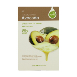 Real Nature Mask Avocado