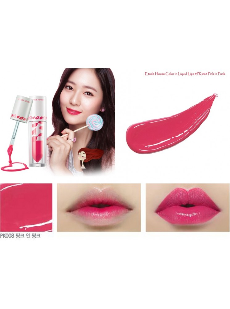 Color In Liquid Lips #PK008