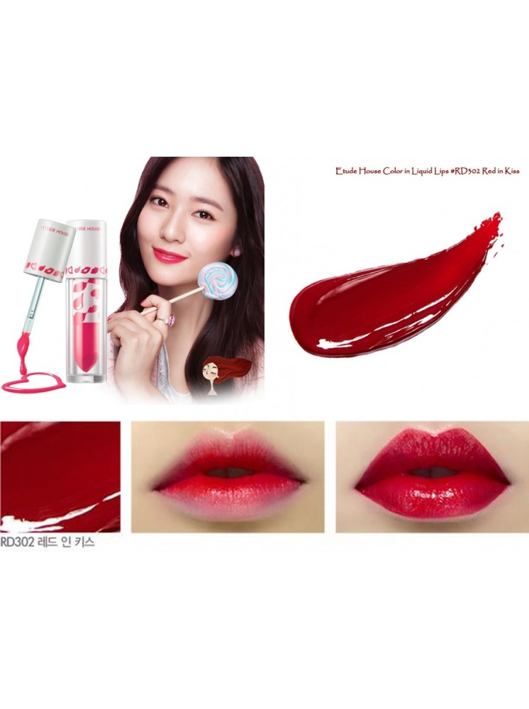 Color In Liquid Lips #RD302