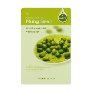 Real Nature Mung Bean Mask Sheet